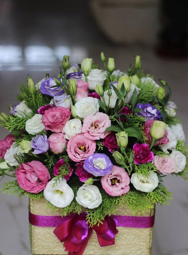 Hoa và món quà ngày tết