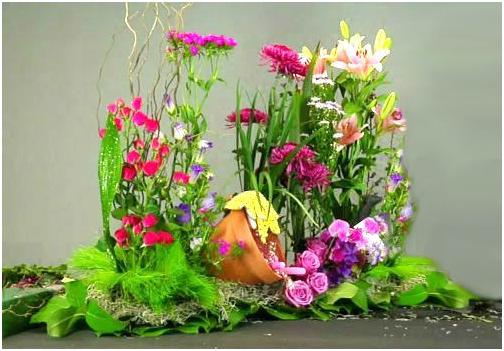 Những phong cách cắm hoa ly ấn tượng